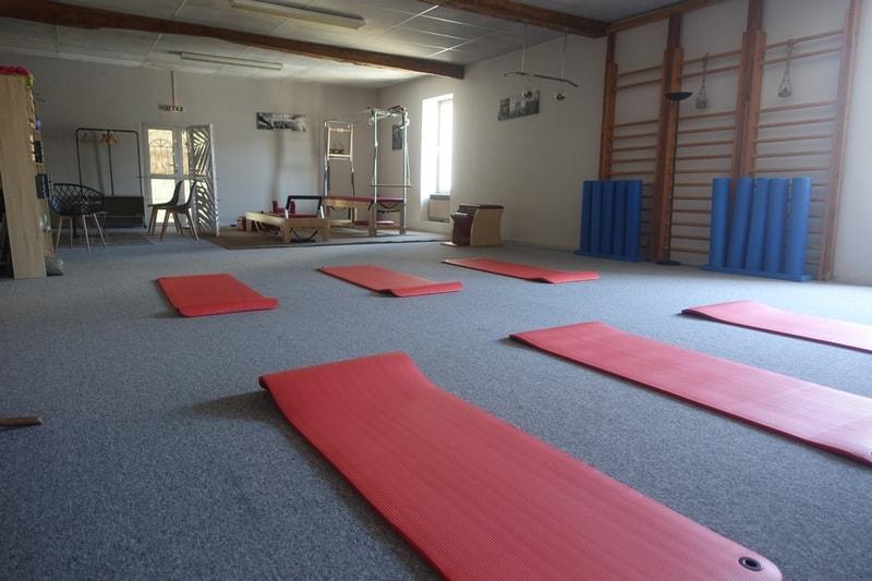 Salle de gym pilates estelle franzon Sauveterre de Guyenne